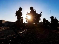 Australian Army M777 howitzer crew