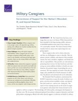 Cover: Military Caregivers