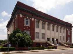 Phillips County courthouse in Helena, Arkansas