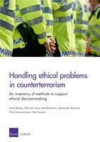 Cover: Handling ethical problems in counterterrorism