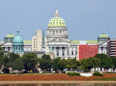 Harrisburg, Pennsylvania panorama
