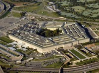 An aerial view of The Pentagon in Washington, D.C.