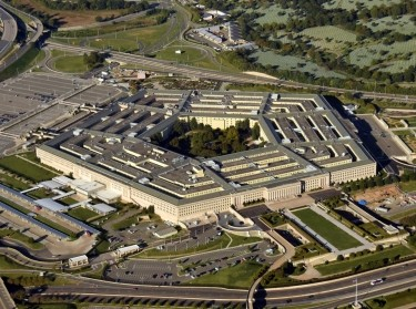 An aerial view of The Pentagon in Washington, D.C., photo by Ivan Cholakov/Getty Images