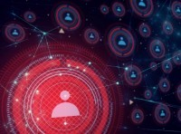 Illustration of a network, security information, and AI technology, image by issaronow/Adobe Stock