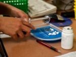 A 28th Medical Support Squadron pharmacy technician counts pills