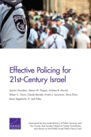 Cover: Effective Policing for 21st-Century Israel