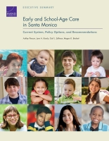 Cover: Early and School-Age Care in Santa Monica