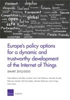 Cover: Europe's policy options for a dynamic and trustworthy development of the Internet of Things