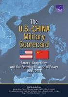 美中军事记分卡: 军队,地理和持续演变的力量平衡 1996-2017 年,内容摘要