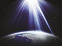 Light in space