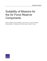 Cover: Suitability of Missions for the Air Force Reserve Components