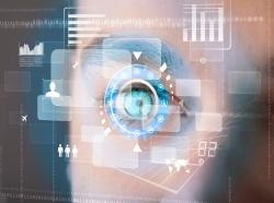 Eye and technology display