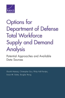 Cover: Options for Department of Defense Total Workforce Supply and Demand Analysis