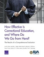 Cover: How Effective Is Correctional Education, and Where Do We Go from Here?