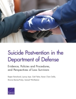 Cover: Suicide Postvention in the Department of Defense