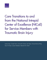 Cover: Care Transitions to and from the National Intrepid Center of Excellence (NICoE) for Service Members with Traumatic Brain Injury