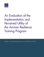 Cover: An Evaluation of the Implementation and Perceived Utility of the Airman Resilience Training Program