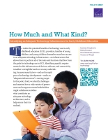 Cover: How Much and What Kind?