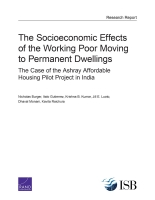 Cover: The Socioeconomic Effects of the Working Poor Moving to Permanent Dwellings