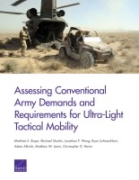 Cover: Assessing Conventional Army Demands and Requirements for Ultra-Light Tactical Mobility