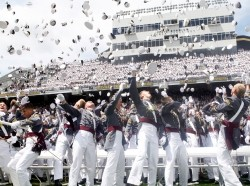 The U.S. Military Academy Class of 2011 at graduation