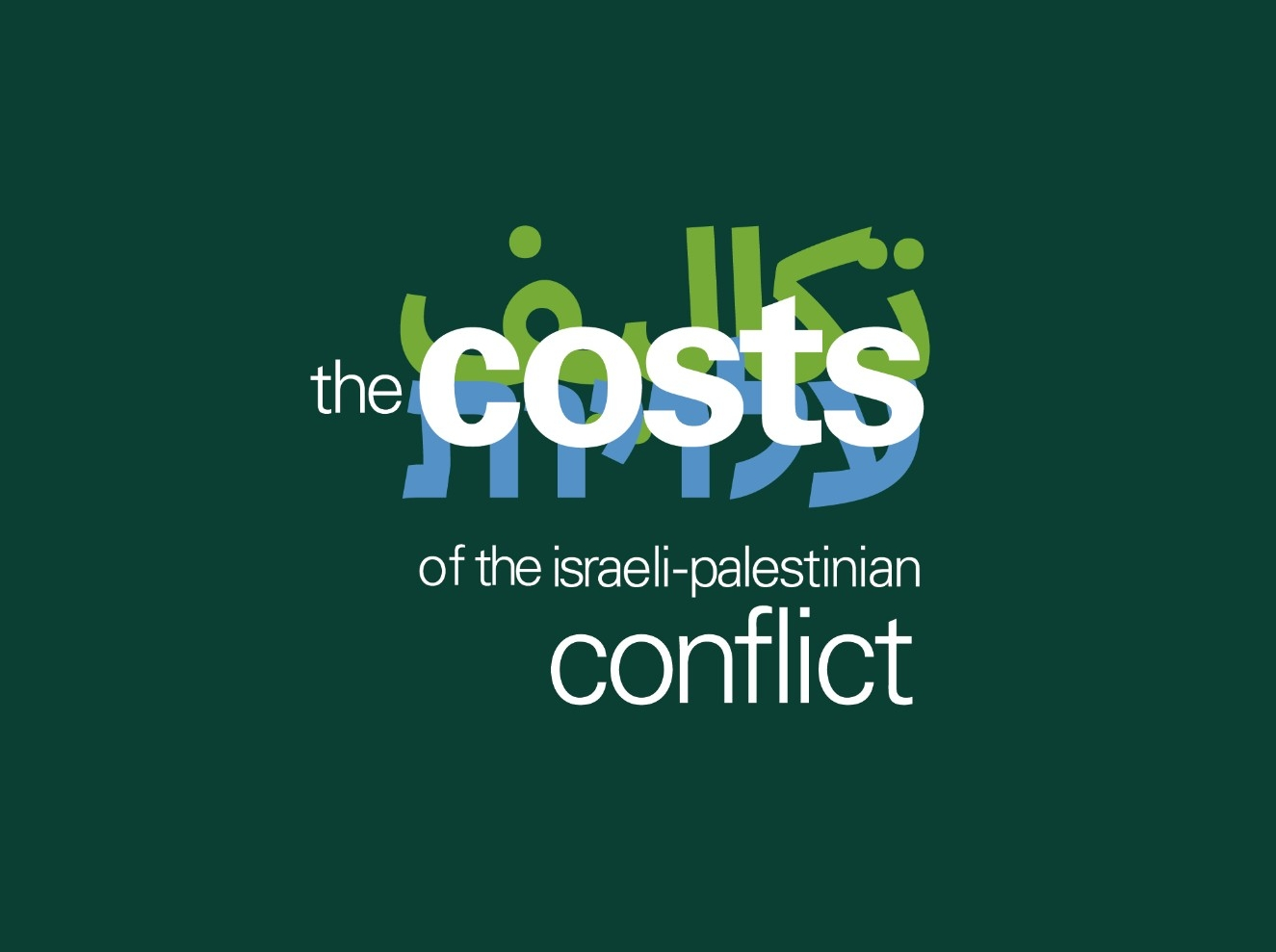 palestinian territories rand the costs of the i palestinian conflict