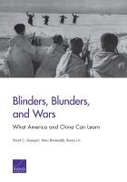 盲目,失误与战争, 美中两国引以为鉴