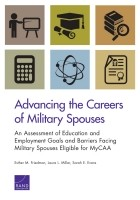 Cover: Advancing the Careers of Military Spouses