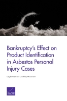 Cover: Bankruptcy's Effect on Product Identification in Asbestos Personal Injury Cases