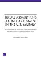 Cover: Sexual Assault and Sexual Harassment in the U.S. Military