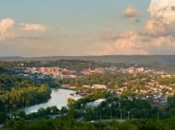 City of Morgantown in West Virginia