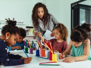 Childhood learning the fun way, photo by bernardbodo/AdobeStock