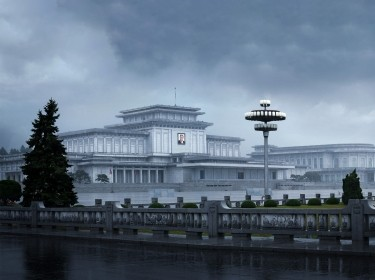 The Kumsusan Palace of the Sun, a mausoleum in Pyongyang, North Korea, photo by narvikk/iStock