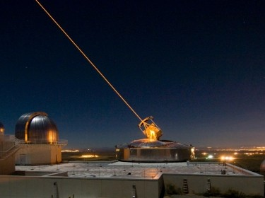 The Sodium Guidestar at the Air Force Research Laboratory's Starfire Optical Range resides on a 6,240 foot hilltop at Kirtland Air Force Base, New Mexico, photo by U.S. Air Force