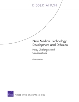 Cover: New Medical Technology Development and Diffusion