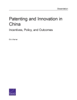 Cover: Patenting and Innovation in China