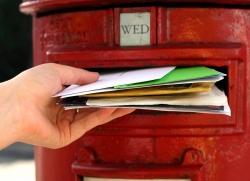 British post mailbox
