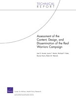 Cover: Assessment of the Content, Design, and Dissemination of the Real Warriors Campaign