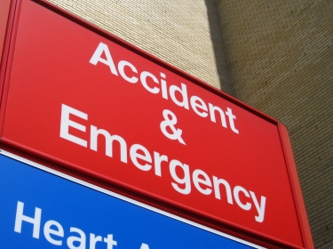 Accident and Emergency room