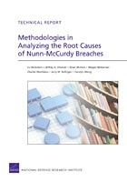 Cover: Methodologies in Analyzing the Root Causes of Nunn-McCurdy Breaches