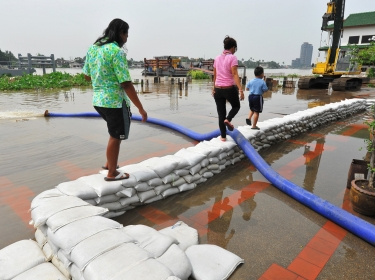 sandbags flood relief