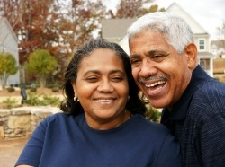 woman, man, family, families, female, african american, mexican, interracial, mixed race, elderly, grandmother, grandparent, grandma, 60s, happy, smiling, smile, well dressed, friends, senior citizen, old, mother, father, married, couple, confident, retirement, retired, love, loving, senior couple, hispanic, minority, outside, home, home ownership, home exterior, senior citizens, seniors, active seniors, people, 70s