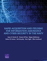 Cover: Rapid Acquisition and Fielding for Information Assurance and Cyber Security in the Navy