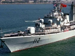 Chinese Luhu Class Destroyer, HARIBING (DDG 112)