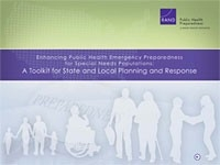 Cover: Enhancing Public Health Emergency Preparedness for Special Needs Populations