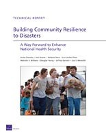 Cover: Building Community Resilience to Disasters