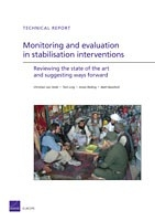 Cover: Monitoring and evaluation in stabilisation interventions