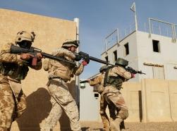 Iraqi Army Commandos hone skills