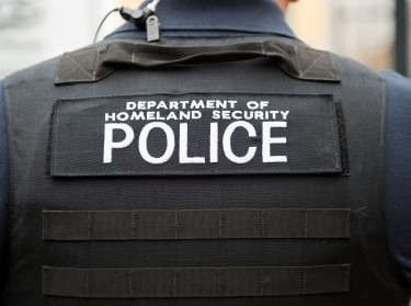A Department of Homeland Security officer