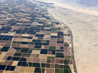 Agricultural farm land is seen in the Imperial Valley near El Centro, California, May 31, 2015